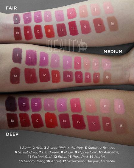 Nyx matte lipstick  web