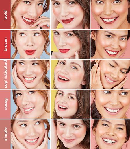 Long lasting liquid matte lipstick